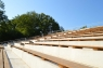 Brīvdabas estrādes ''Ozolāji'', būvniecība un rekonstrukcija